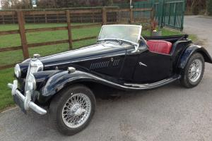 1954 MGTF LHD project car for restoration - Matching numbers example Photo