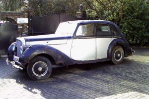 Bentley MKV1 1950 Manual Complete + running for restoration inc valuable number