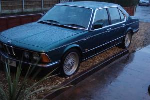 1985 BMW ALPINA B10 3.5 E23 7 series VERY RARE MANUAL ,only a few remain.