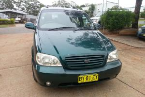 KIA Carnival LS 2003 Auto ABS 7 Seater AUG Rego 4 Baby Seat Mounts Neat Cheap in Port Macquarie, NSW