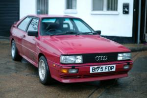 1984 AUDI QUATTRO 10V Turbo WR (Ashes to Ashes)
