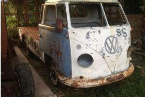 Splitscreen Kombi 1958 Single CAB Split Kombi HOT ROD RAT ROD