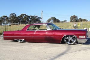 Cadillac 1966 Show Drag NOT Chev Ford V8 Mustang Mopar Lowrider