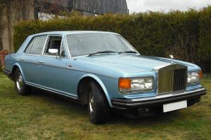 Rolls Royce Spirit, Metallic Silver Blue Photo
