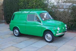 Fiat 500 Furgoncino Van / LHD / 1973 / 21K Miles / 4 Owners / ASI / £15,495