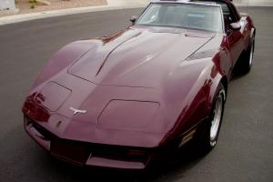 Chevrolet Corvette 1980 Automatic Transmission Removable T Tops
