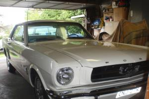 Ford Mustang 1965 2D Hardtop 3 SP Automatic 4 7L Carb Seats in Greystanes, NSW Photo
