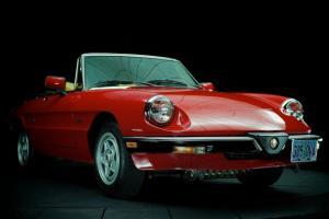 1989 Alfa Romeo Spider Graduate Classic Convertible Roadster Video