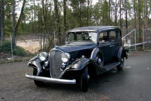 1933 Buick Sedan Original Unrestored Series 50 No Rat Rod