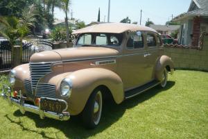 1939 Chrysler DeSoto, 4 door Sadan.