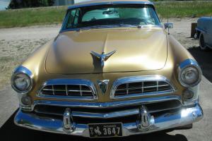 1955 Chrysler Windsor 2-door Hardtop Deluxe Nassau - Sharp Car - Ready to Drive!