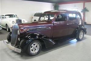 1936 Chrysler Airstream 4 Door Sedan All Steel Body 350 V8 Automatic Runs Well Photo