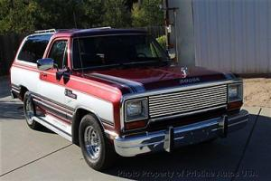 Dodge Ram Charger 100 2WD, Auto,OD, 93k miles,2 owner, no rust or accidents, A/C