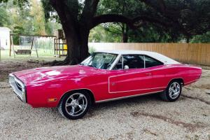 1970 Dodge Charger 500 SE 383 Panther Pink Restored Rust Free R/T Clone NO RES!