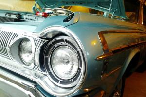 1964 Dodge Polara 500, Super Stock HEMI Cross Ram, Rotisserie, orig color