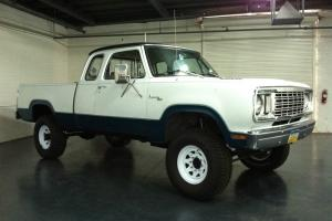 1977 Dodge Power Wagon Club Cab Short Bed Adventurer Pack.