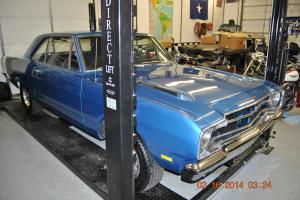 1969 dodge dart gts 340 4 barrel 4 speed blue exterior black interior muscle car