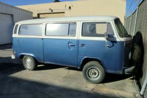 1977 VW VOLKSWAGEN CAMPER VAN BUS SOLID CALIFORNIA IMPORT