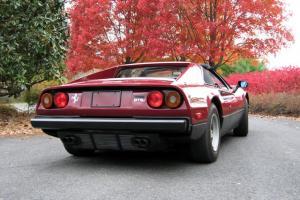 1980 FERRARI 308 gtsi Rosso Rubino Boxer Serviced 56k Miles Orig Window Sticker!