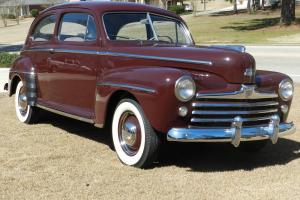 1947 Ford Custom Deluxe 2 door sedan Frame off Restoration