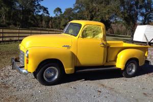 1951 Yellow GMC Pickup Truck