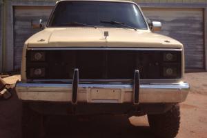 1984 GMC Jimmy Sierra Classic Sport Utility 2-Door 5.7L