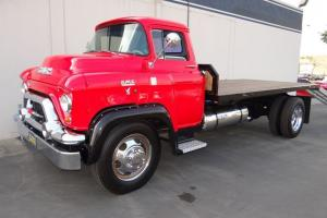 '55 GMC Chevy Truck Flatbed Tow Truck, Turbo V8 Engine