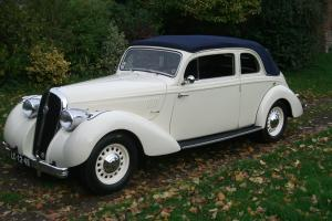 1939 HOTCHKISS 680 Monte Carlo Decouvrable - Extremely rare 'Grand Routier'