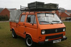 VW T25/T3 double cab/doka crewcab pickup  Photo