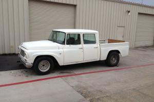 1968 International Harvester 1200 Series Crew Cab Pick Up