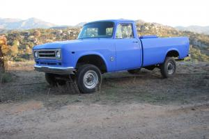 1970 INTL HARVESTER PICK UP TRUCK - CLASSIC AND RARE