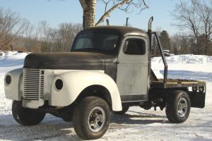 1948 International Flat Bed Truck, pickup, 4x4, Rat Rod, Street Rod, V8, Classic