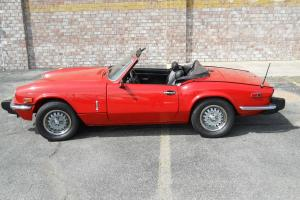 1978 Triumph Spitfire Convertible   VERY CLEAN !!!!!!!