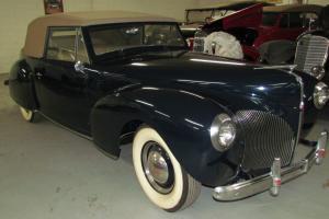 1940 Lincoln Continental Conv