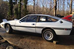 Great Barn Find!! 1977 Lotus eClat Sprint S-1 Left Hand Drive Limited Edition