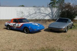 2-1983 Mazda RX7 daily driver,race car and 1984 rx7 parts car
