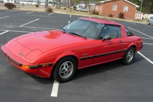 1985 Mazda Rx-7 two door sedan GSL