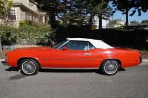 ORIGINAL CALIFORNIA 1973 COUGAR XR7 351 V8 CONVERTIBLE WITH 57K ORIGINAL MILES!