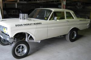 1964 Mercury Comet altered wheelbase gasser afx hot rat rod drag