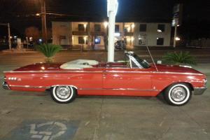1963 MERCURY MONTEREY S55 CONVERTIBLE - NO RESERVE