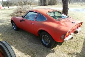 VINTAGE - 1970  OPEL  -  GT  -  PROJECT  -  VERY  COOL Photo