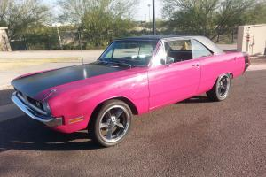 1971 Dodge Dart Swinger Panther Pink Fresh Restoration Mopar Demon Duster 340