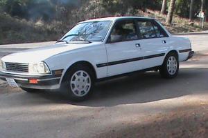 Rare Beautiful 1988 Peugeot 505 GLX V6 Sedan 95K Miles Books & Records Excellent
