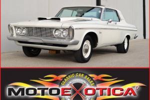 1963 PLYMOUTH BELVEDERE-LIFELONG AZ CAR-64K ACTUAL MILES-440 CID V8-MAX WEDGE