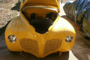 Custom 1941 Plymouth 4 door sedan  (15,000 miles since customization)