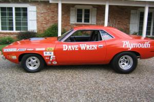 Dave Wren's Super Stock 1970 426 HEMI Cuda 2 Time National Record Holder