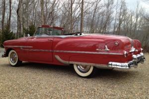 1953 Pontiac Chieftain Convertible All Original Not Hot Rod