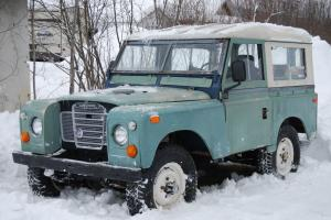 1973 Land Rover Series III – Project