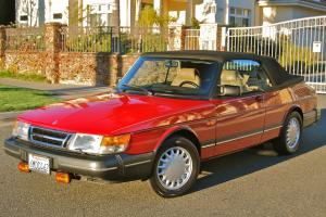 1993 Saab 900S Convertible, original excellent paint, CA car, great driving car