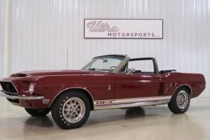 1968 Ford Mustang Shelby Cobra GT350-Convertible- A/C-NEW RESERVE